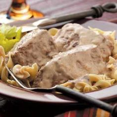 Creamy Swiss Steak - We ate this one so much that we kind of burnt ourselves out on it for a while, but it is still a fav!
