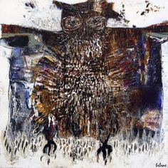 Hibou samuraï, GAGNON  #Art #Artist #artwork #Homedecor #Painting #PAinter #Peinture #Peintre #Quebec #Canada Art Abstrait, Canada, Artwork, Painting, Toile, Artist, Paint, Work Of Art, Auguste Rodin Artwork