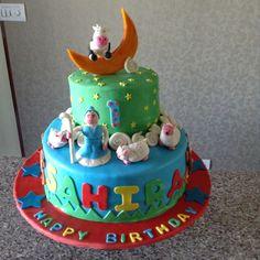 Nursery rhyme themed cake
