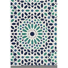 Nasrid Palace Mosaic Wallpaper