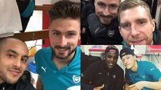 Olivier Giroud ft. Theo Walcott, Per Mertersacker and Joel Campbell #COYG #AFC #GUNNERS #Gooners #Football #HatTrick #12 #UCL #OLYvAFC