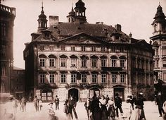 Kren house on the Old Town Square - demolished in 1902