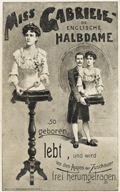 "Pgeist430 - Poster ""Miss Gabriele"""