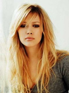 50 Cute and Effortless Long Layered Haircuts with Bangs | Long ...