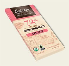 72% Organic Dark Chocolate with Sea Salt