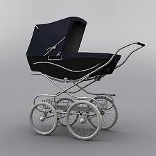 Classic Baby Pram (Navy-Black) Model available on Turbo Squid, the world's leading provider of digital models for visualization, films, television, and games. Baby Prams, Baby Carriage, Baby Strollers, Classic, Baby Born, 3d, Navy, Beautiful Landscapes, Films