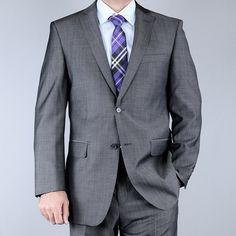 Men's Sharkskin 2-button Suit