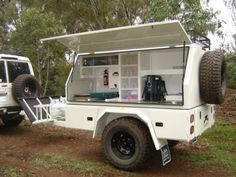 CAMPER TRAILER / CAMP KITCHEN suit off-road use | Camper Trailers ...