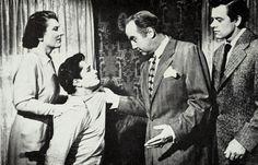 """All the King's Men"" 1949 Anne Seymour,John Derek,Broderick Crawford and John Ireland"