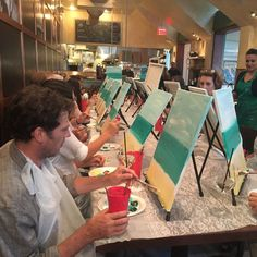 Barbatella is casual Italian restaurant on Third Street South that cooks up good food, fun including art experience