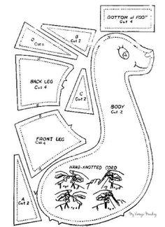 Giraffe pattern and instructions
