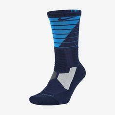 Nike Hyper Elite Powerup Crew Basketball Socks. Nike Store