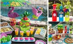 Festa na Piscina, comemore aniversários ou reúna os amigos na estação mais animada do ano. Confira dicas de decoração, comidinhas e brincadeiras.