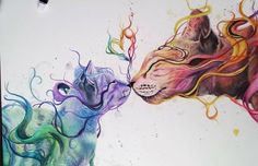 Young Self-Taught Artist Creates Beautiful Watercolour