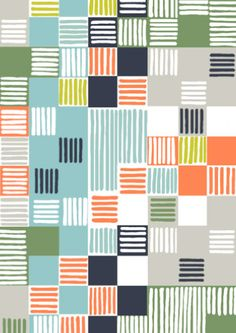 Minuet-Multicolour pattern