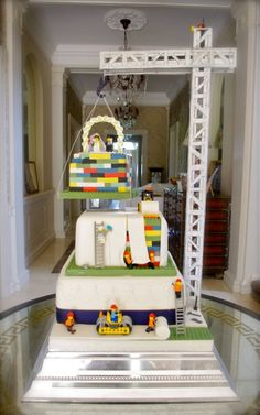 Lego Wedding Cake by Mr Cake..... http://stores.ebay.co.uk/bewilderbugs/ https://www.facebook.com/bewilderbugspage https://twitter.com/BewilderBugs https://plus.google.com/u/0/b/108070750963268379060/108070750963268379060/posts https://www.youtube.com/user/BewilderBugs