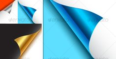 Realistic Graphic DOWNLOAD (.ai, .psd) :: http://vector-graphic.de/pinterest-itmid-1000110336i.html ... Various Page Curls ...  background, corner, edge. peeling, effect, fold, page curl, paper, vector  ... Realistic Photo Graphic Print Obejct Business Web Elements Illustration Design Templates ... DOWNLOAD :: http://vector-graphic.de/pinterest-itmid-1000110336i.html