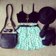 bag shoes tank top skirt black hat jewelry sunglasses jewels mint cross belt shirt mint top blue skirt teal skirt shorts crosses high waisted black crop top high heels turquoise crop tops black leather cross print women shoulder bags dress shorts turquoise