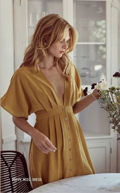 Your Spring Style Goals Await At Lost + Wander Dress Outfits, Casual Dresses, Fashion Dresses, Summer Dresses, Look Fashion, Spring Fashion, Womens Fashion, Fashion Design, Vetement Fashion