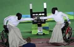 The 2016 Rio Paralympics, Wheelchair Fencing, Men's Individual Epee Category B…
