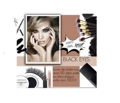 """""""BLACK EYES PONTO FINAL"""" by ninigarcia ❤ liked on Polyvore featuring beauty, Kate Spade, Battington, Urban Decay, NARS Cosmetics and Burberry"""