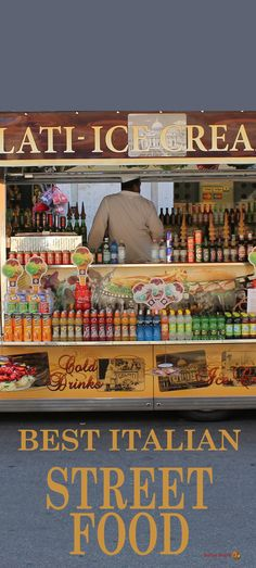 Every Italian region has its own street food specialties. Here's a list of what to look for and where to find the best Italian street food. Italian Street Food, Italian Market, Regions Of Italy, Rome, Pizza Truck, Good Food, Tuscany, Mixer, Sausage