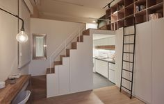 This is a renovation project of an old flat which measures 22 sqm and 3.3m in height. Due to the high housing prices in Taipei City, the living space that yo...
