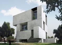Minimal Architecture, Concrete Architecture, Beautiful Architecture, Residential Architecture, Contemporary Architecture, Interior Architecture, Life Estate, Arch Building, Arch House