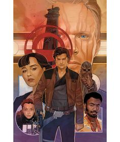 Marvel comics for April: this is the cover Solo: A Star Wars Story Adaptation drawn by Phil Noto. Star Wars Comic Books, Star Wars Comics, Star Wars Art, Marvel Comics, Phil Noto, Evil Empire, Star Wars Wallpaper, Comic Book Covers, Cultura Pop