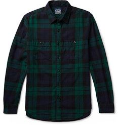 J.Crew - Black Watch Checked Cotton-Flannel Shirt