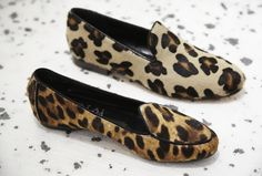 Cb Made In Italy Exclusive Miami Leopard Pony Hair Slippers www.alidifirenze.fr