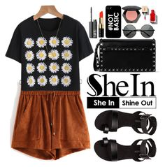 """Shein"" by oshint ❤ liked on Polyvore featuring H&M, Valentino, Bobbi Brown Cosmetics, NARS Cosmetics, Joolz by Martha Calvo, Sheinside and shein"