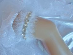 A personal favorite from my Etsy shop https://www.etsy.com/listing/256143690/wedding-garter-deluxe-design-wedding