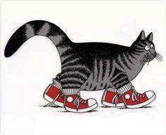 the Kliban cat ...Had sheets, pillowcases, stuffed animals, miniatures...all kliban #klibancat #love #charmiesbywendy