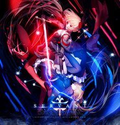 Servant by AchzatrafScarlet on DeviantArt Gfx Design, Deviantart, Anime, Anime Shows