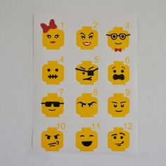 Hey, I found this really awesome Etsy listing at https://www.etsy.com/listing/206288285/lego-inspired-faces-on-head-vinyl-decal