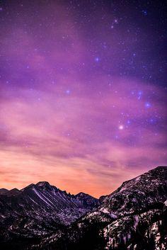 Scorpius over Glacier Gorge (por Bryce Bradford)