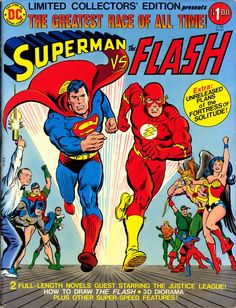 Superman vs The Flash - sheesh, how many races did they have?  (Seriously, I wanna know)