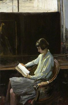 Alice   -    Sir John Lavery , 1919 Irish, 1856 - 1941  35.4 cm (13.94 in.) x 25.4 cm (10 in.)
