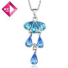 Aliexpress.com : Buy Neoglory Jewelry with swarovski elements crystal rhinestone necklace pendant wholesale women dress accessories brand from Reliable necklaces suppliers on NEOGLORY JEWELRY