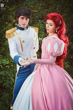 Look for top quality Cosplay and Costumes? Buy Cosplay and Costumes from Fobuy enjoying great price and satisfied customer service. Ariel Cosplay, Epic Cosplay, Disney Cosplay, Amazing Cosplay, Pocahontas Costume, Couple Halloween Costumes, Halloween Cosplay, Cool Costumes, Cosplay Costumes