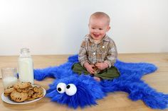 DIY: How to Make a Cookie Monster Rug