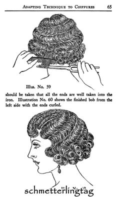 1926 Hairstyles Book Roaring Flapper by schmetterlingtag (diy party hairstyles finger waves) Marcel Waves, 20s Flapper, Flapper Hair, 1920s Hair, Retro Mode, Retro Hairstyles, Party Hairstyles, Short Hairstyles, Wedding Hairstyles