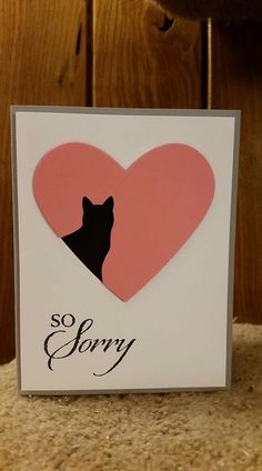 Cat punch, Sorry for Everything, Stampin Up