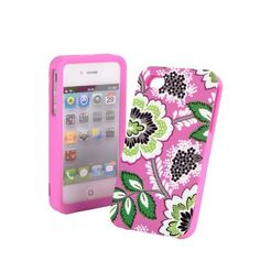 Hard shell phone case in Priscilla Pink