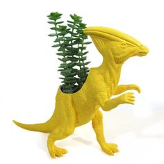 Penny the Parasaurolophus Planter