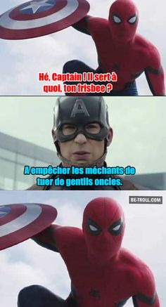 Captain America 1 - Spiderman 0