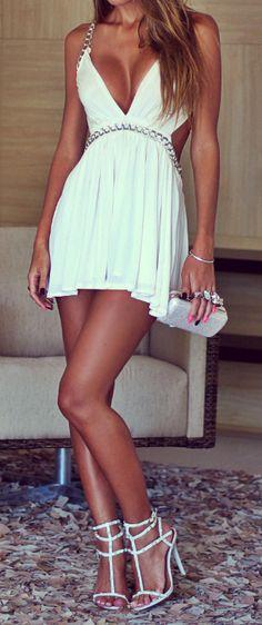 All white - A little short but still cute!!!!