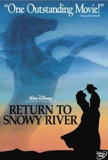 Return to Snowy River - favorite part is when Jim shows up Alistair's ride with this trusty whip!