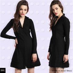 #MondayDressup👗 We are taking the classic #LBD to run our #monday errands at work✌🏻👠 How are you doing your #Monday? 😁 Ft: Black Jacket Dress Product SKU🔍 D0099 Shop link in the bio👉🏻 #mondayscenes #dressup #fashion #workhard #fashionista #girlboss #bossbabe #muchlove #divaatfashion